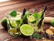 Рецепта Коктейл Кайпироска (Caipiroska) с водка и лайм